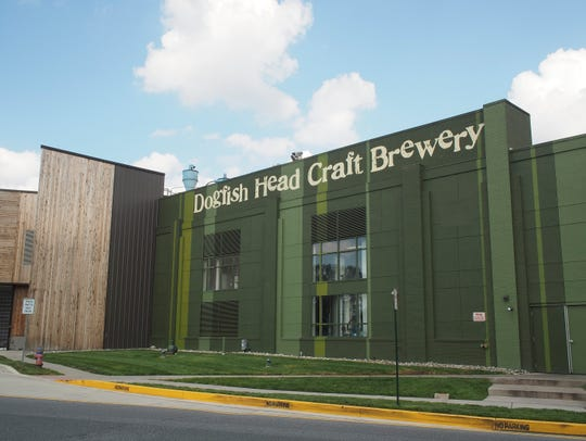 Dogfish Head Craft Brewery in Milton.