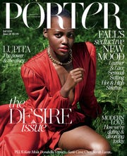 Lupita Nyong'o covers the September 2018 issue of Porter magazine.