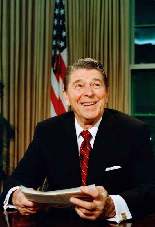 Xxx Reagan Gorbachev Summit 1987 A Usa Di