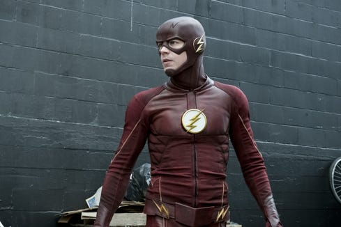 """Grant Gustin in The CW's """"The Flash."""""""