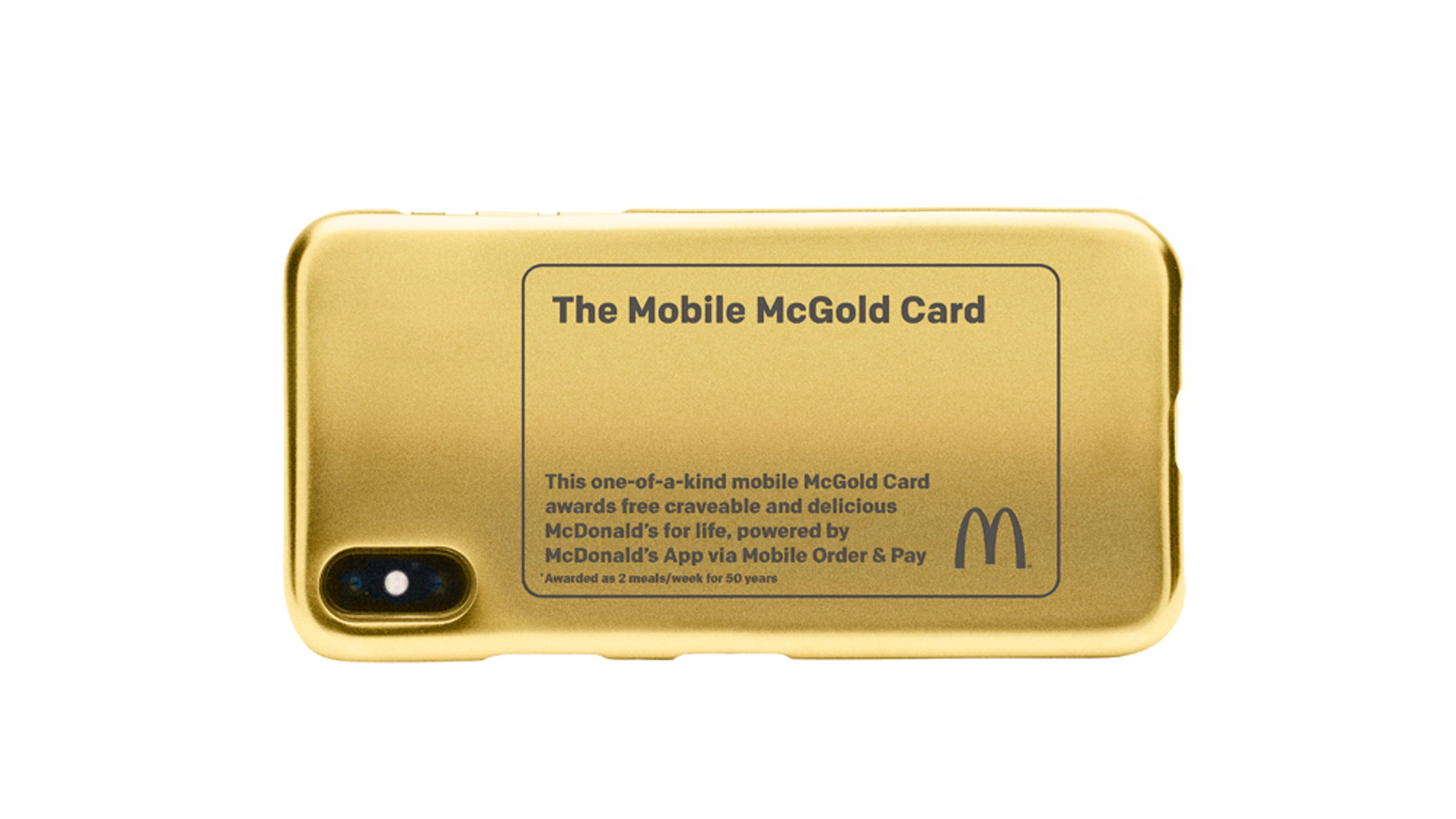 Mcdonalds Mcgold Card Contest Giving Away Free Food For Life