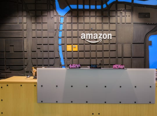 Amazon's offices in Chicago.