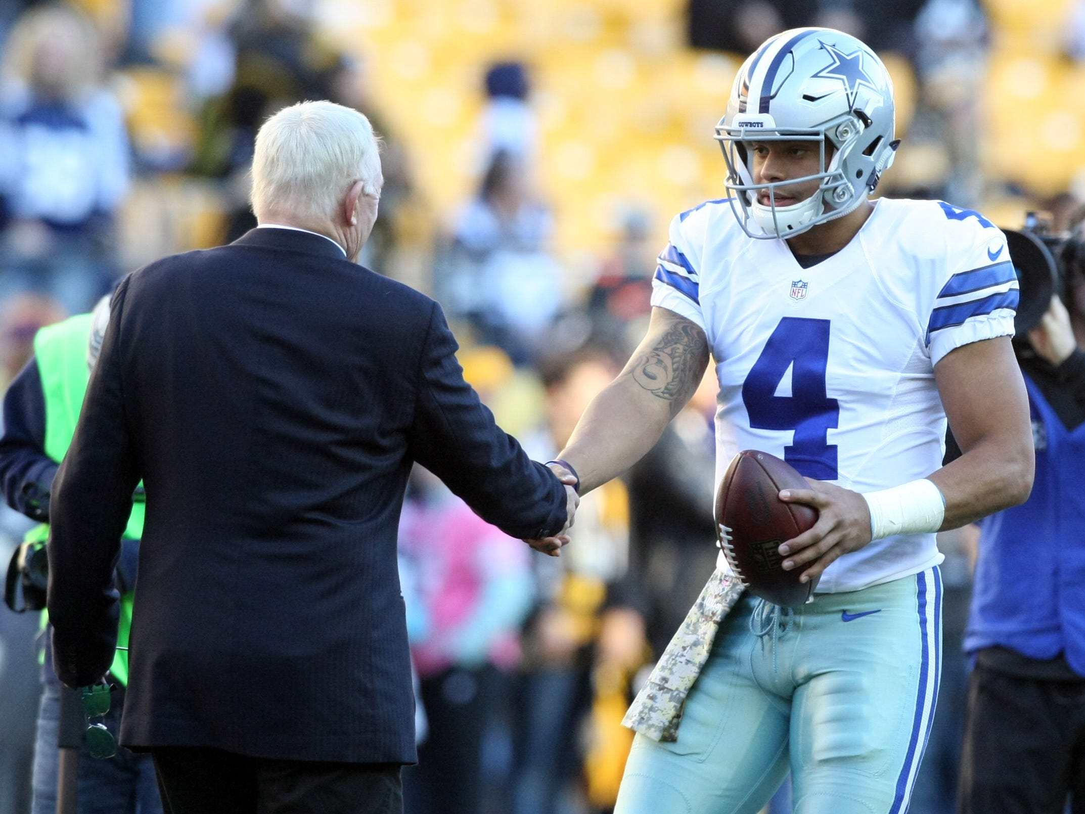Nfl Dallas Cowboys At Pittsburgh Steelers