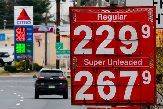 Ap Gas Prices F Usa Nj