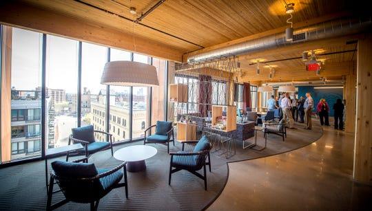Amazon's offices in Minneapolis, Minnesota