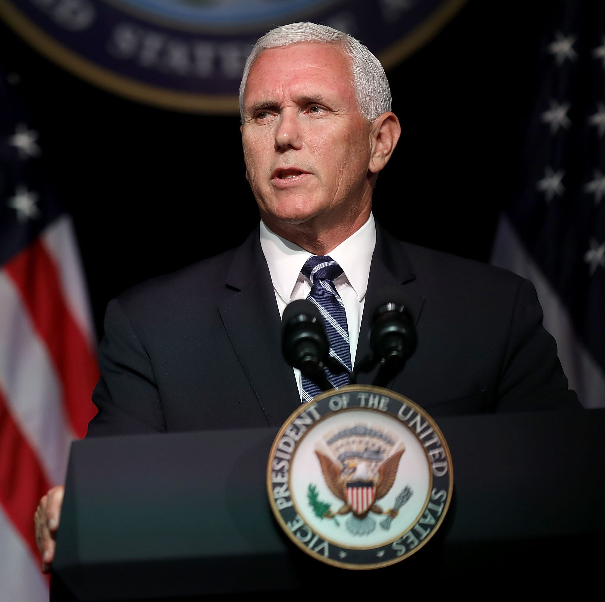 Mike Pence: 'Space Force is an idea whose time has come'