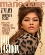 Zendaya graces the cover of Marie Claire's September 2018 issue.