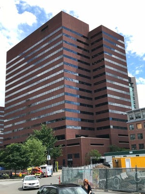 Amazon's Cambridge, Mass. office building at 101 Main Street. Amazon has more than 1,200 Amazon staff in the greater Boston area.