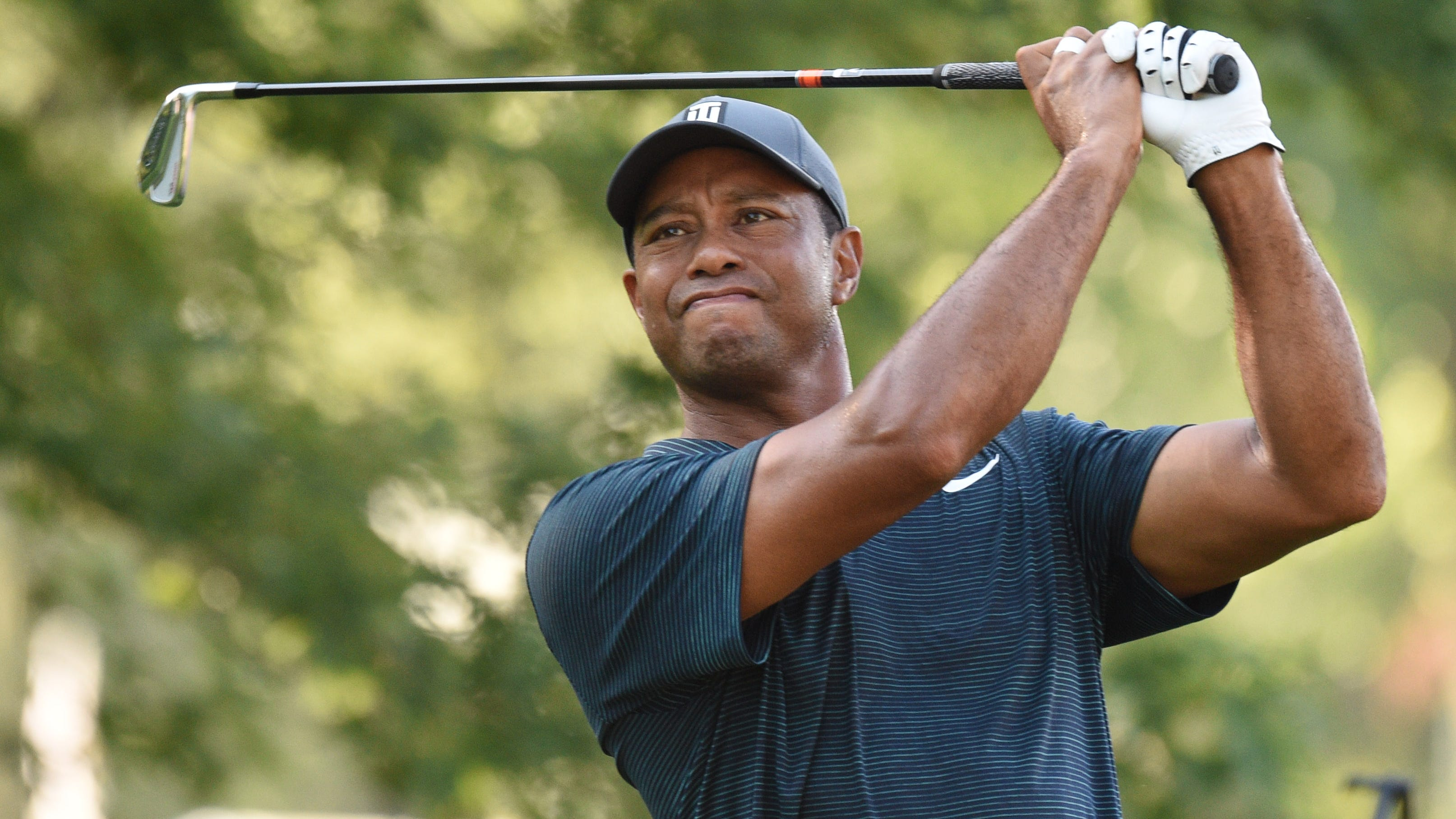 PGA Championship: Follow Tiger Woods' Thursday Round, Shot