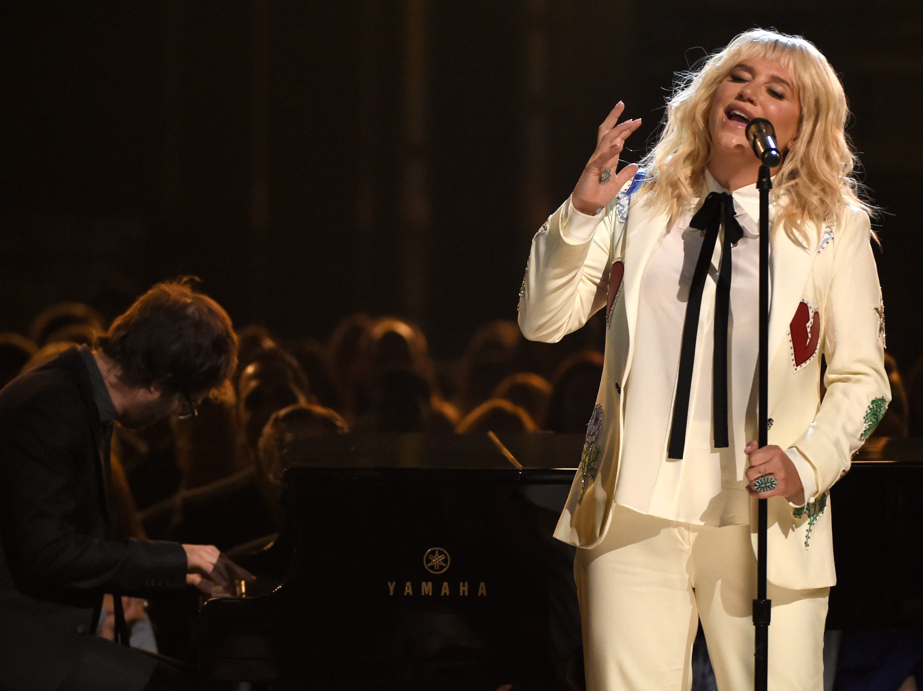 Kesha performs 'It Ain't Me Babe' at the Billboard Music Awards on May 22, 2016, in Las Vegas.