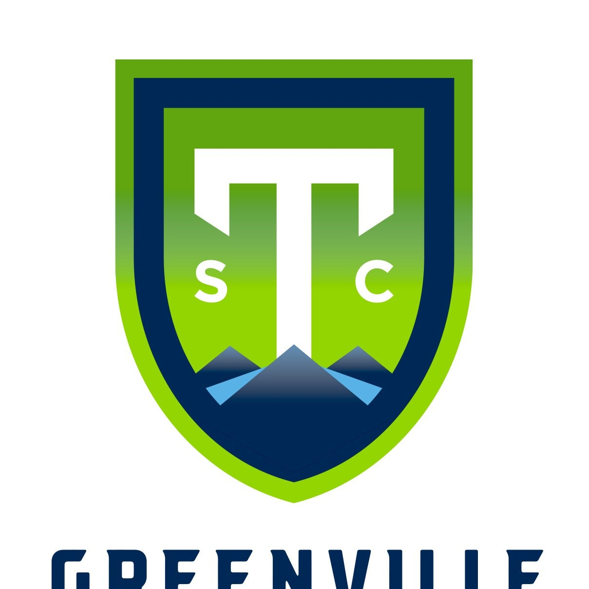 Greenville pro soccer team has a name and colors.