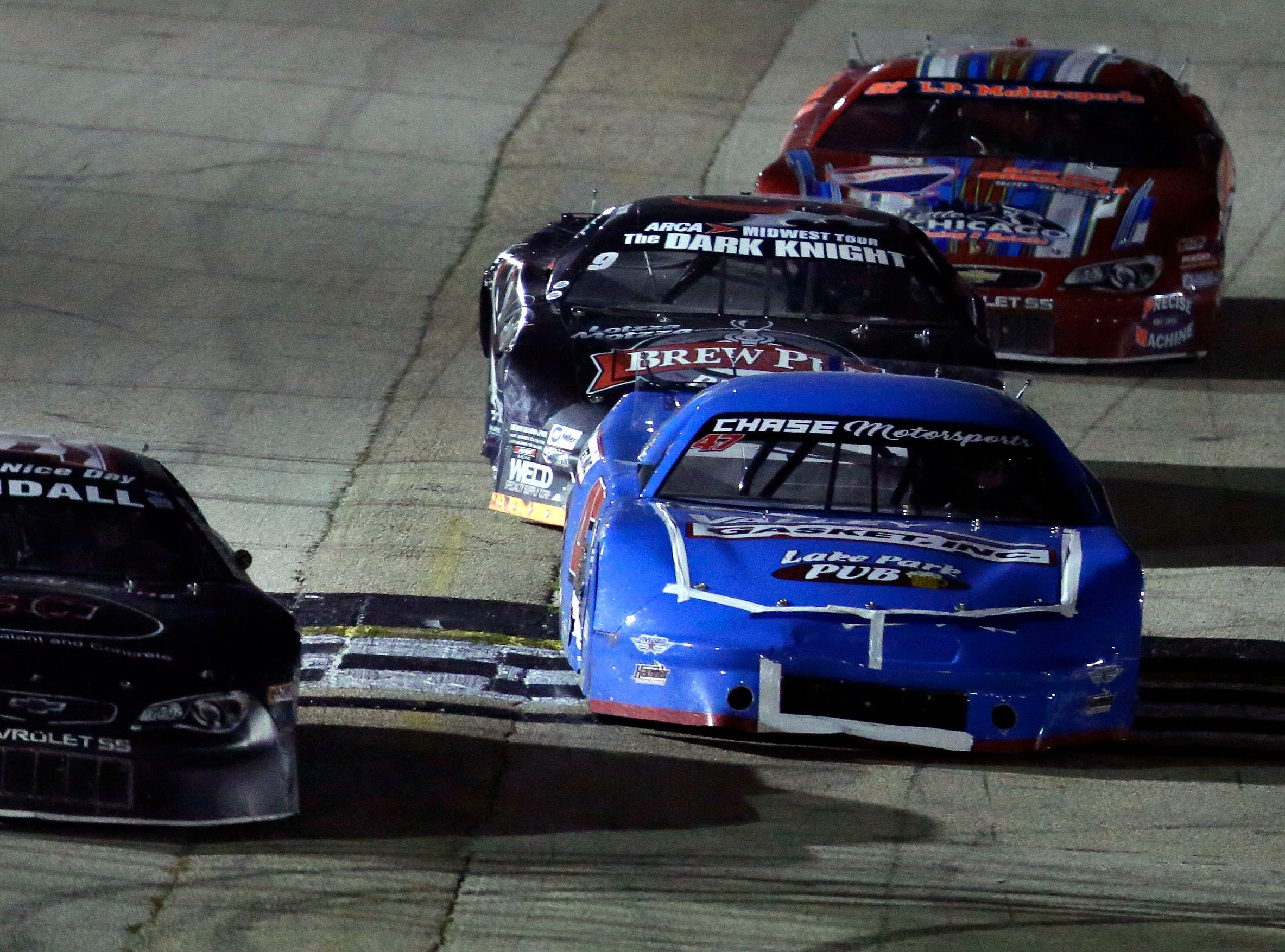 """The Red, White and Blue series concludes with the """"Blue Race"""" Thursday, August 9, 2018, at Wisconsin International Raceway in Kaukauna, Wis.Ron Page/USA TODAY NETWORK-Wisconsin"""