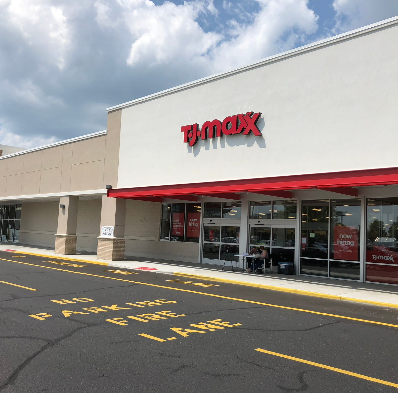 T.J. Maxx opening in Wall Sunday at Allaire Plaza