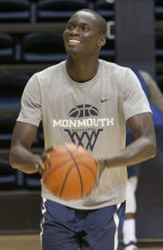 Monmouth forward Pierre Sarr will attend the school on scholarship as a senior, but will not play basketball.