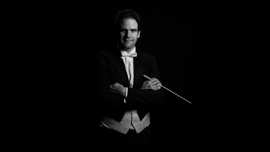 Conductor Darko Butorac is music director of the Asheville Symphony.