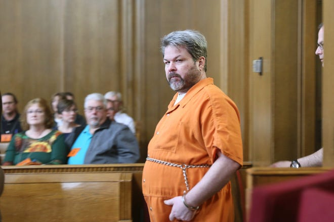 Jason Dalton enters a courtroom during a hearing in April.
