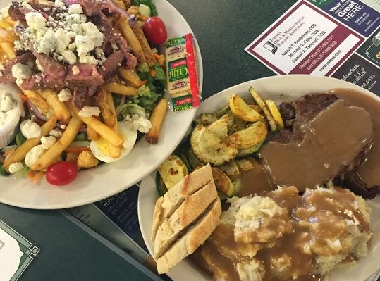 """Metro Diner is known for what it calls """"comfort food with flair."""""""