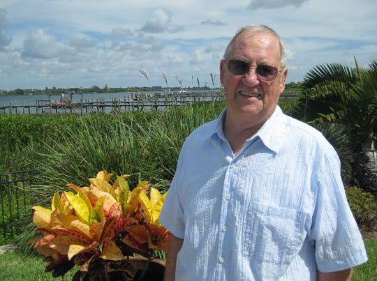 Harry Brandon, resident of Lansing Island in Indian Harbour Beach.