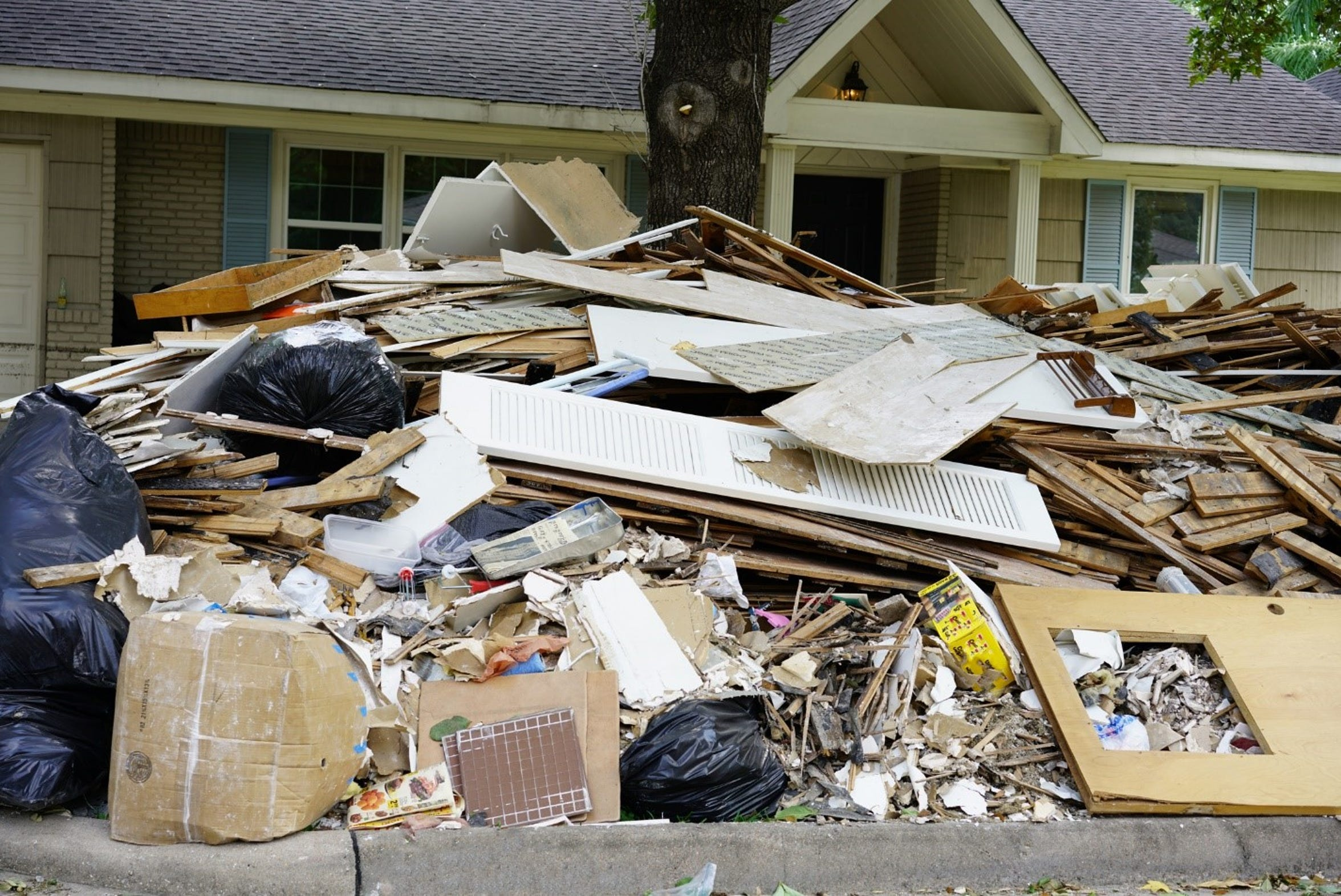 Many Port of Corpus Christi employees' homes were destroyed by Hurricane Harvey.