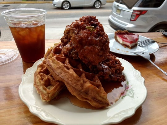 Like old friends, Nashville Hot Chicken and Waffles cozy up at Constellation Collective in Collingswood.