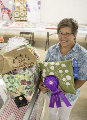 Maxie Good was awarded the Homemaker of the Year for a second time at the Ross County Fair.