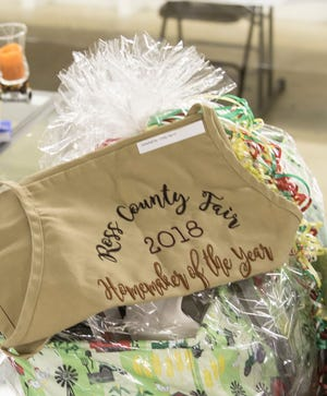 Every year at the Ross County Fair, a Homemaker of the Year is awarded to whomever receives the most points from their entries. In 2018, the winner was Maxie Good.