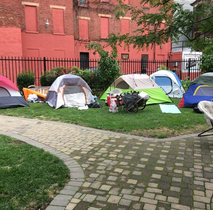 Deters to homeless campers in Over-the-Rhine: Get out by noon Thursday