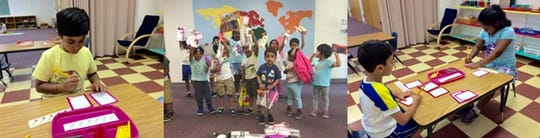 Campers held a school supplies drive and wrote back-to-school notes of encouragement for children in their community.