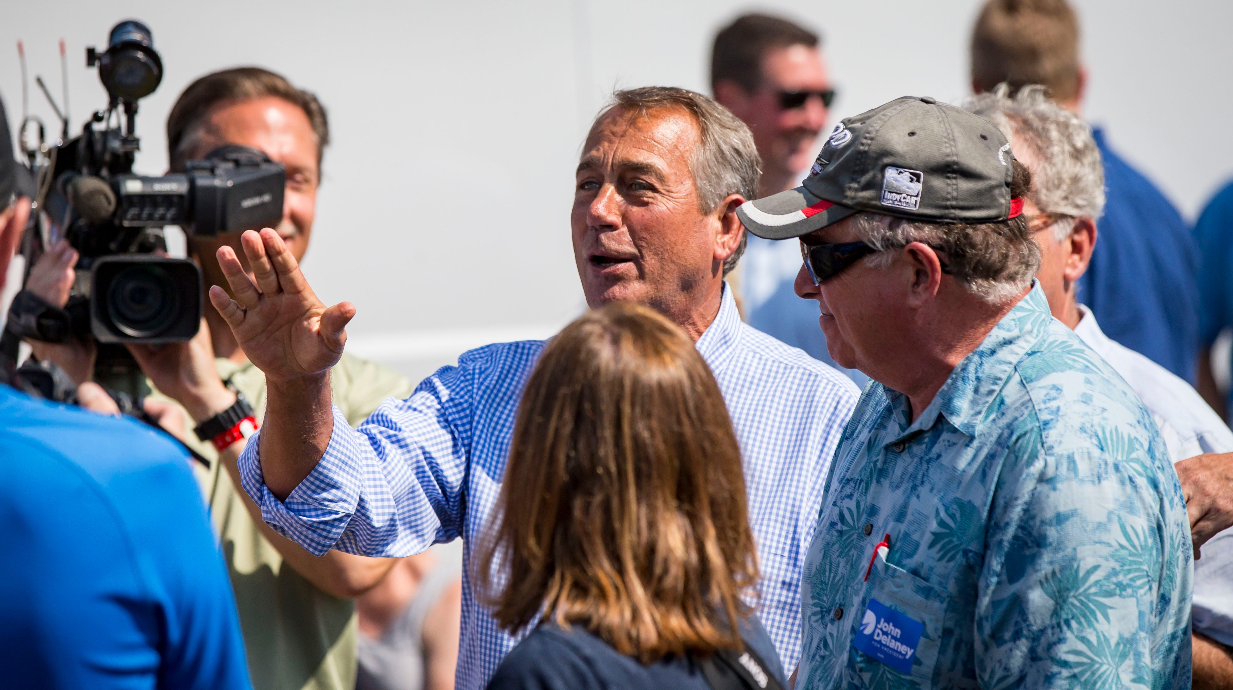 2020 buzz, cameo appearances and more: Political highlights from the 2018 Iowa State Fair