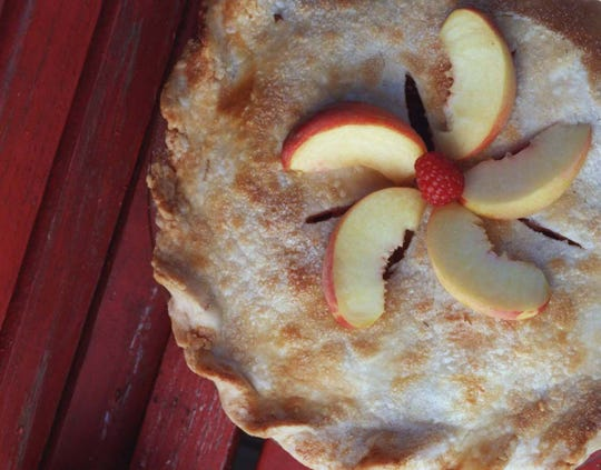 Home-baked peach pies and cobblers will be offered for sale at this weekend's Peach Celebration.