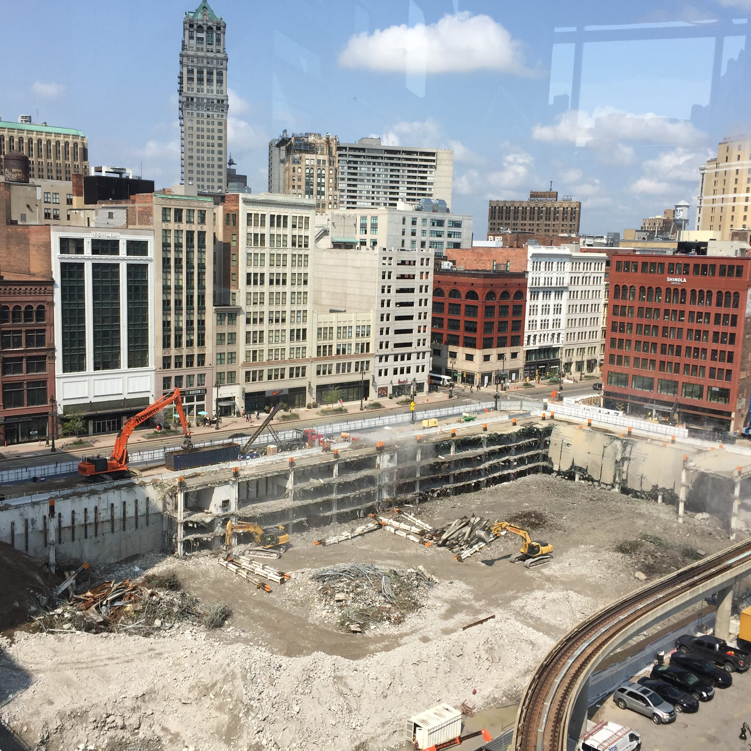 Downtown Detroit on the right path to revival but has a long way to go