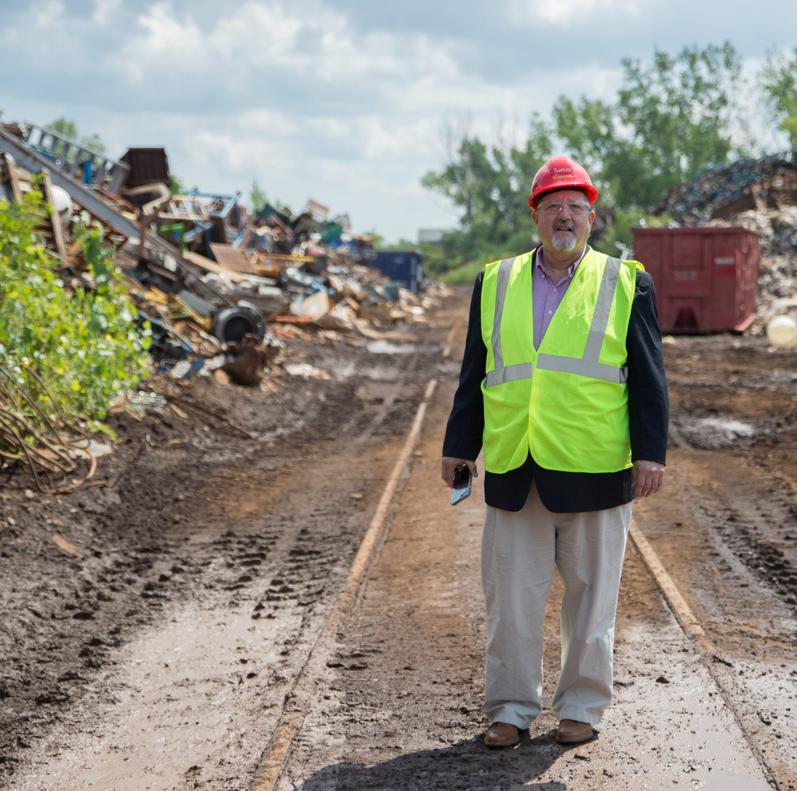 Trade war hits scrap yards in Michigan in ways you wouldn't expect