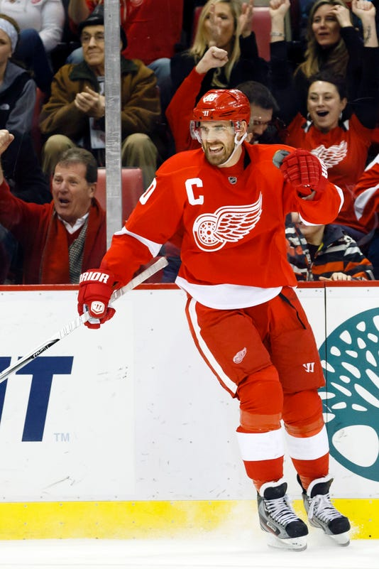 Nhl St Louis Blues At Detroit Red Wings