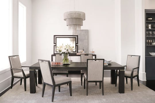 Lighting is the jewelry of a home. For example, a stunning chandelier can transform a dining area.