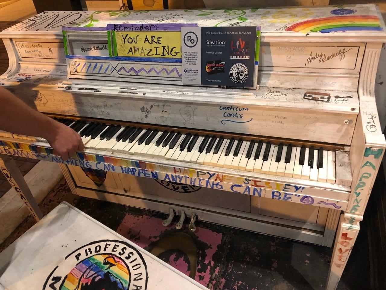 Royal Oak Piano