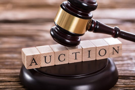 Gavel On Auction Word
