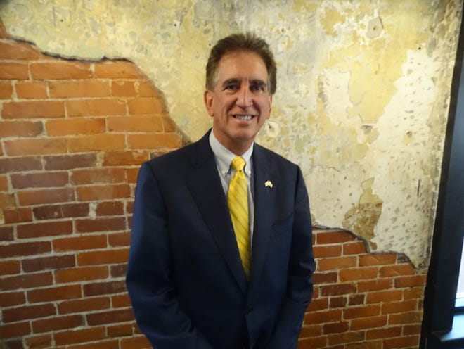 Jim Renacci, Republican U.S. Senate candidate, visited Sandusky and Ottawa counties Friday as part of his campaign.
