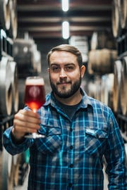 Crooked Stave founder Chad Yakobson.