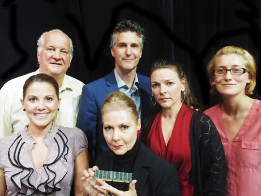 "The cast of Theatre Conspiracy's ""Repossessed"""