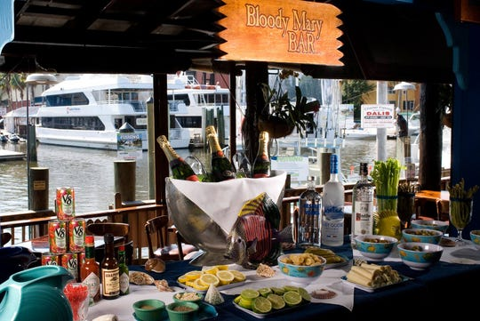 The Dock at Crayton Cove in Naples offers brunch every Sunday from 10:30 a.m. to 2 p.m.