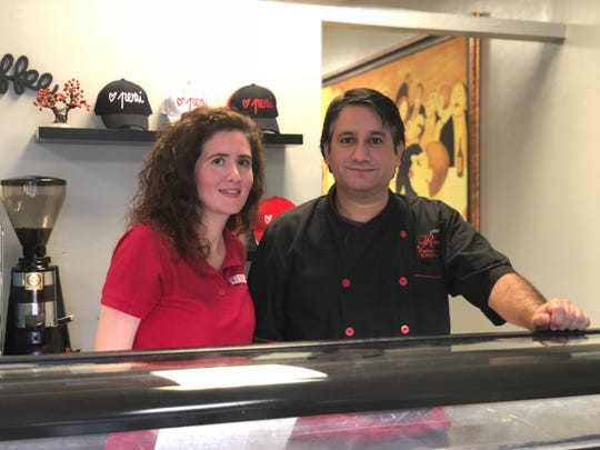 """Co-owner Alexandra Giraldo,  pictured left, talks changes and expansions at Renzo's Peruvian Kitchen with husband and head chef, Renzo Barriga. """"We love to experiment with food,"""" Giraldo said. """"There is no limit for us."""""""