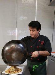 Chef Renzo Barriga owns Renzo's Peruvian Kitchen with this wife, Alexandra Giraldo.