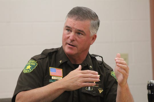 Cascade County Sheriff Bob Edwards speaks on issues contributing to the July 28 prison riot.