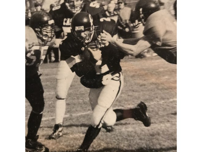 Tyler Cotton was a three-time All-State quarterback and running back for the Cascade Badgers.