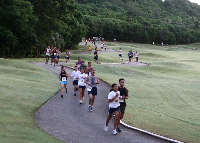 The Onward Mangilao Golf Club Fun Run is shown in this file photo.