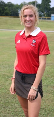 2018 UCHS Bravettes Golf:  Sarah Hagedorn