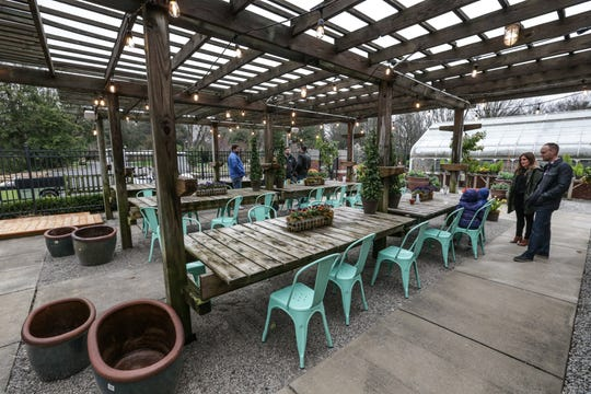 Newfields' beer garden opened to the public in March 2017. It has been an integral part of programming on the Indianapolis Museum of Art's grounds.