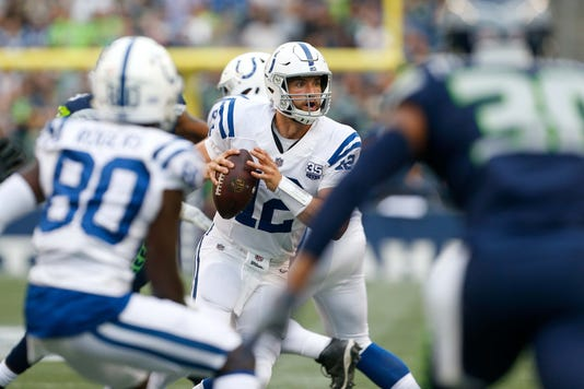 Nfl Indianapolis Colts At Seattle Seahawks