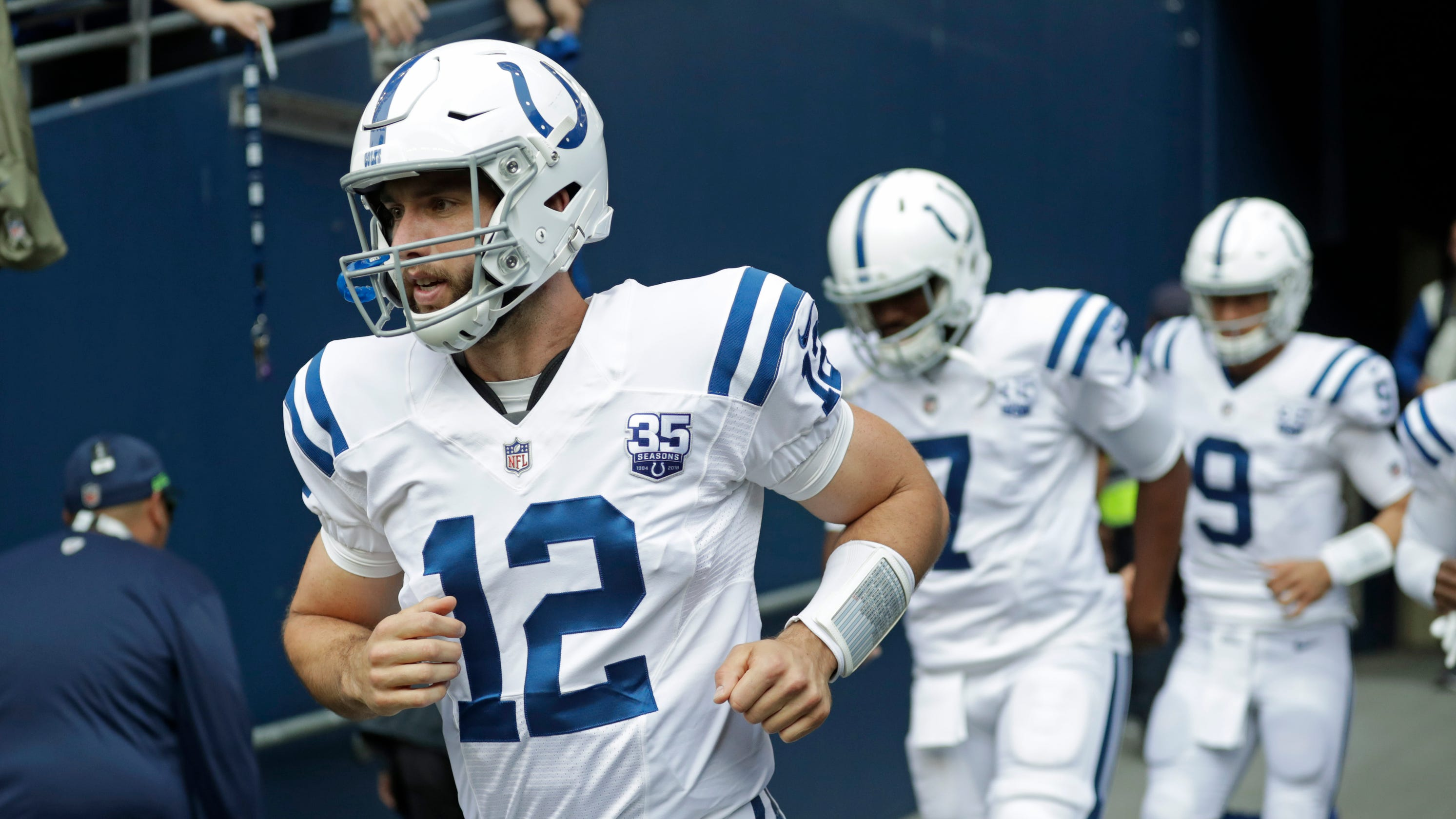 Insider  Andrew Luck set his emotions - and his arm - free in return to  Colts 48080a4c5
