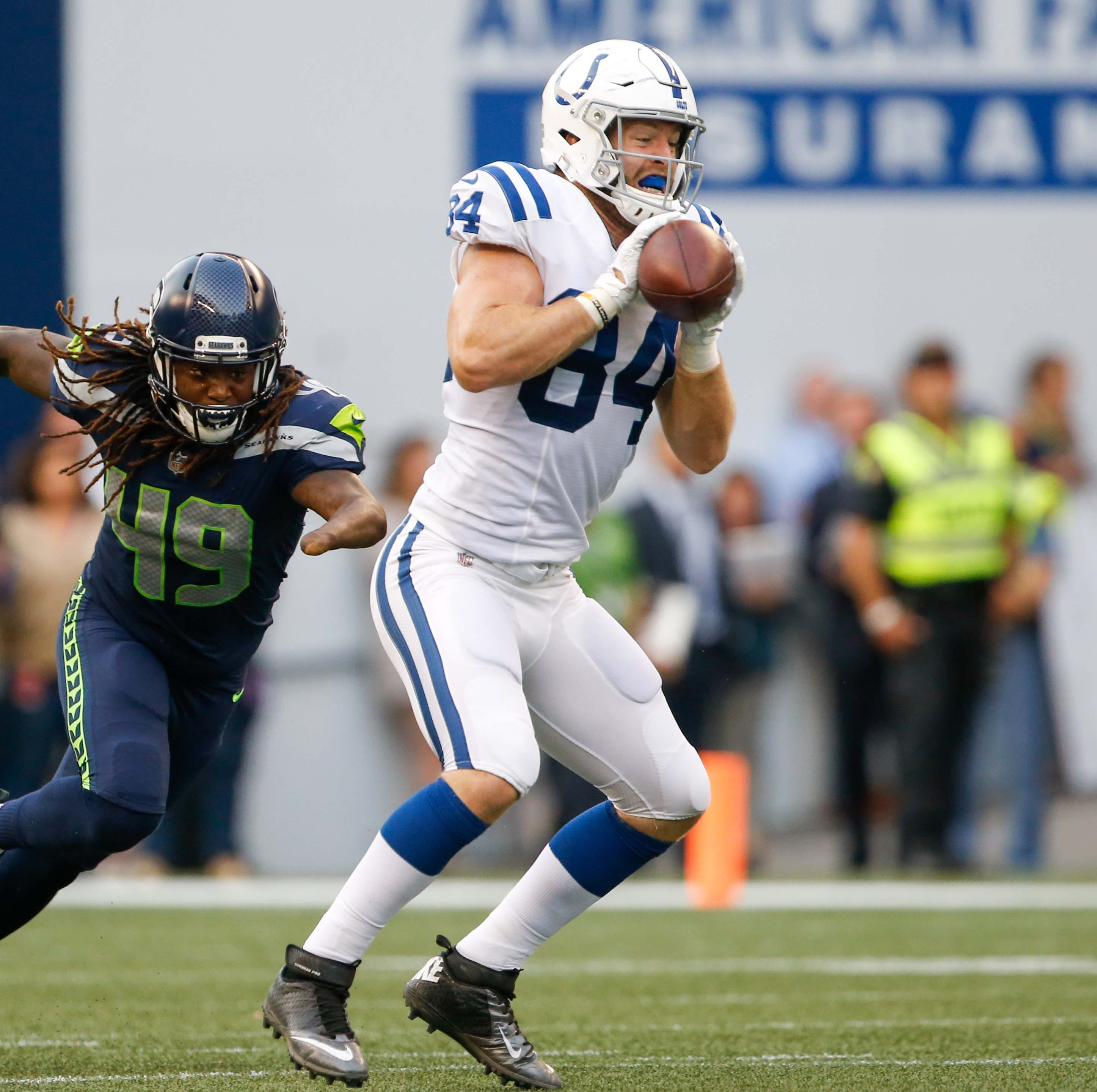 Colts beat Seahawks, Marlon Mack leaves with injury